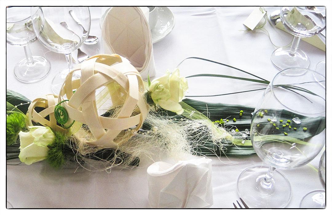 Landgasthof Kreuz Königsheim Hochzeit Tische