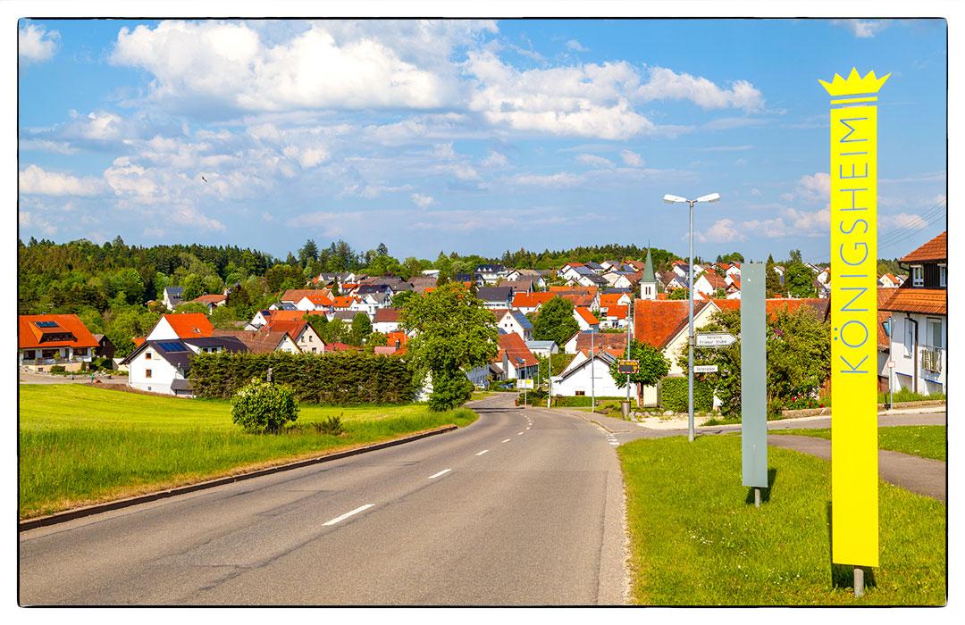 Landgasthof Kreuz Königsheim Ortseingang